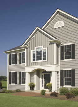 Board and Batten Siding Example