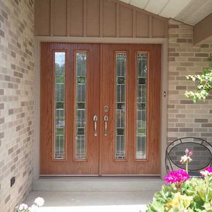 Steel and Fibergl Front Entry Door Installation Contractor on