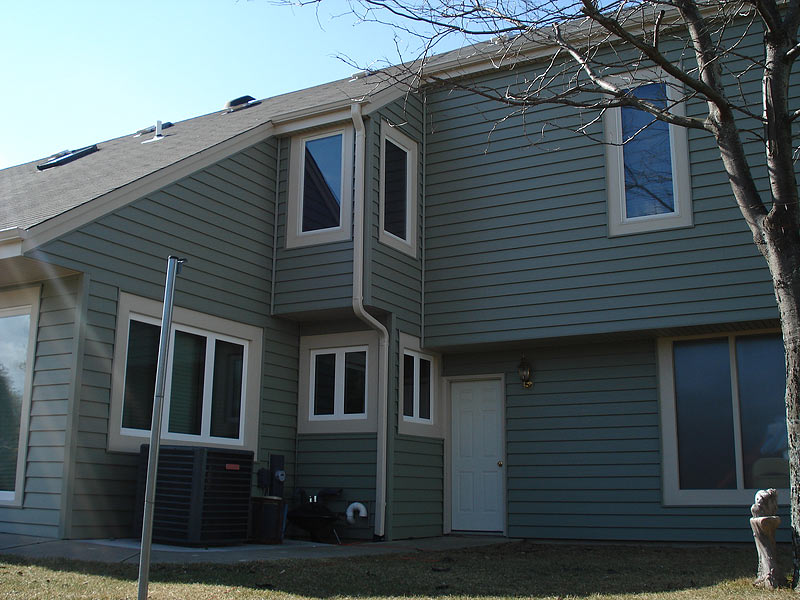 New siding installation in Brookfield